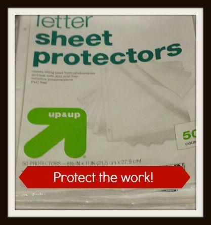 Sheet Protectors