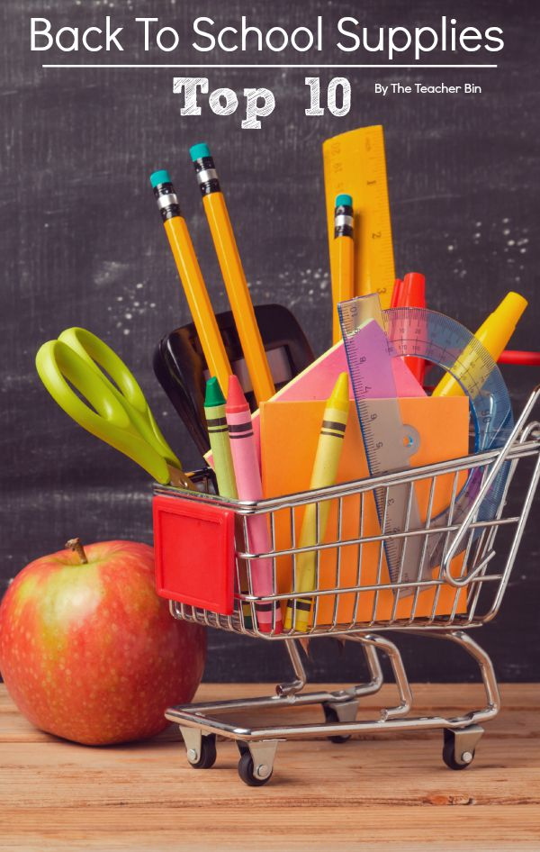 Back To School Supplies – My Top Ten Supplies