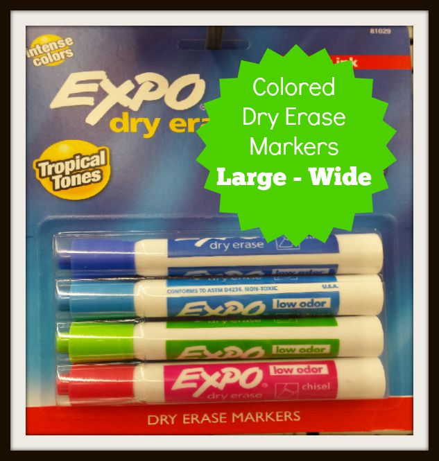 Dry Markers