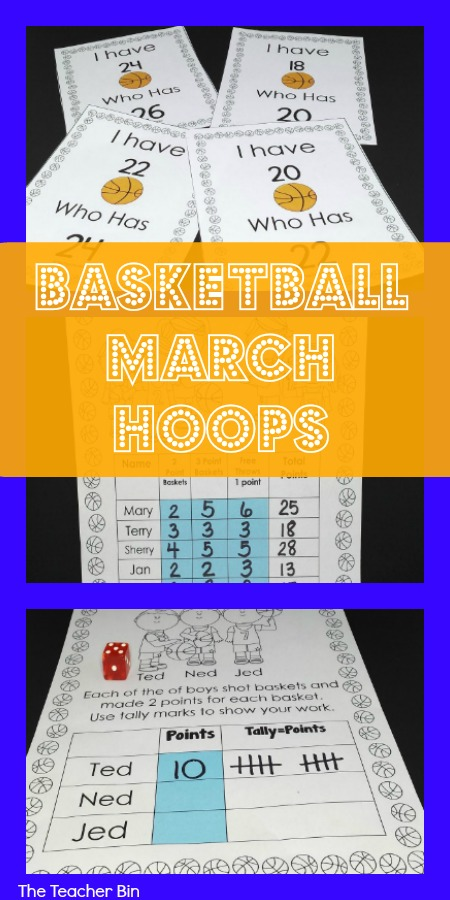 Basketball March Hoops