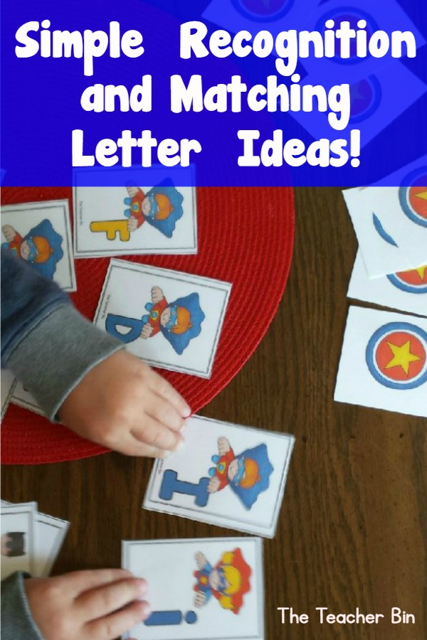 Simple Alphabet Recognition and Matching Letters  Ideas