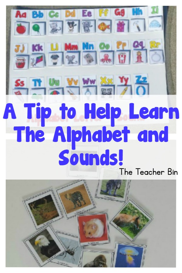 A Tip to  Learn The Alphabet and Sounds