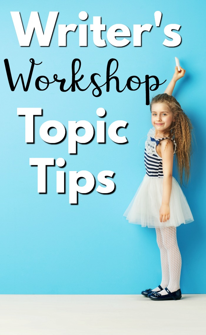 A tip for coming up with Writer's Workshop topics for the kiddos! It can be tough on the kids to come up with topics for Writer's Workshop! Here are some great tips for easy ways for the students to come up with topics for writer's workshop! #writersworkshop #writingcenters #kindergartenwriting