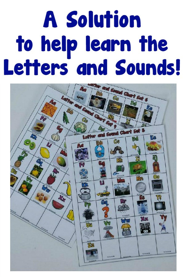 A Solution to Help Learn the  Letters and Sounds!