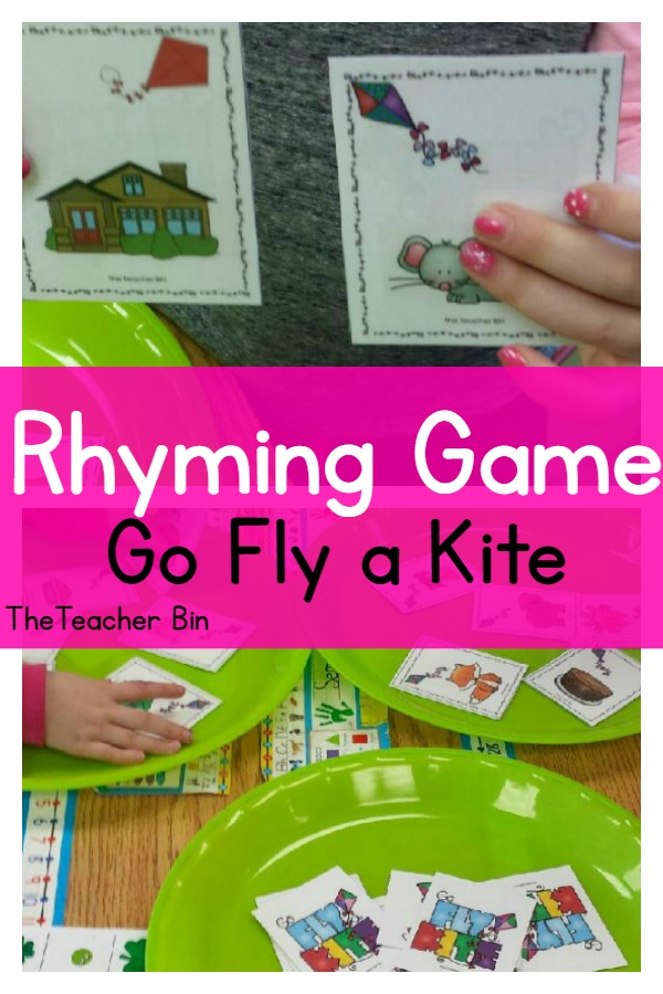 pin for Rhyming Game