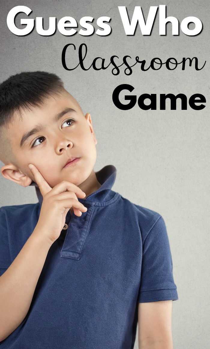 A fun class game that helps kids with listening skills, focus on details, and learning how to appropriately as a question! A fun classroom game for many ages! #education #games #kindergarten