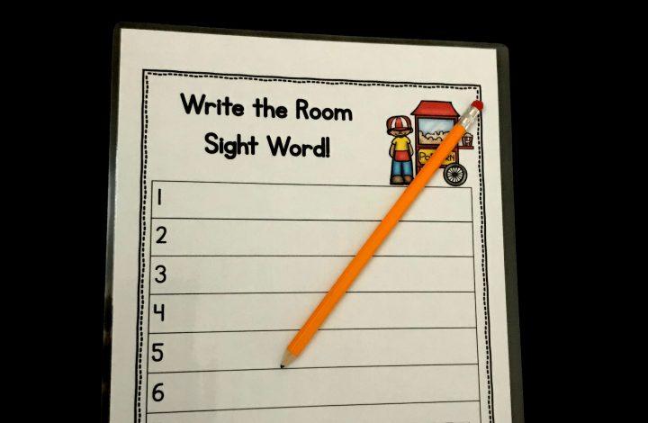 Kindergarten Sight Word Game – Freebie